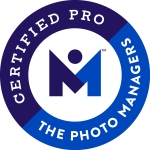 Certified Professional Photo Organizer Badge