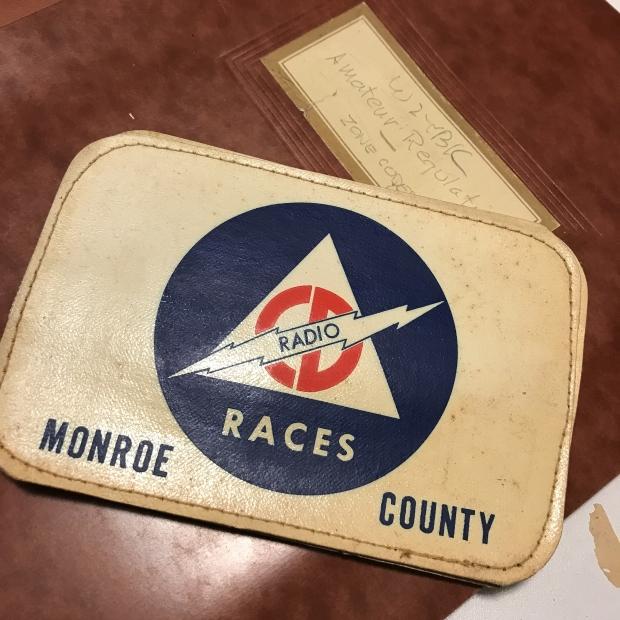 Physical Photo and Memorabilia Organizing-Amateur Radio Memorabilia from Monroe County NY